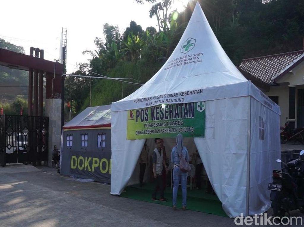 Puluhan Dokter Siaga di Jalur Mudik Kabupaten Bandung