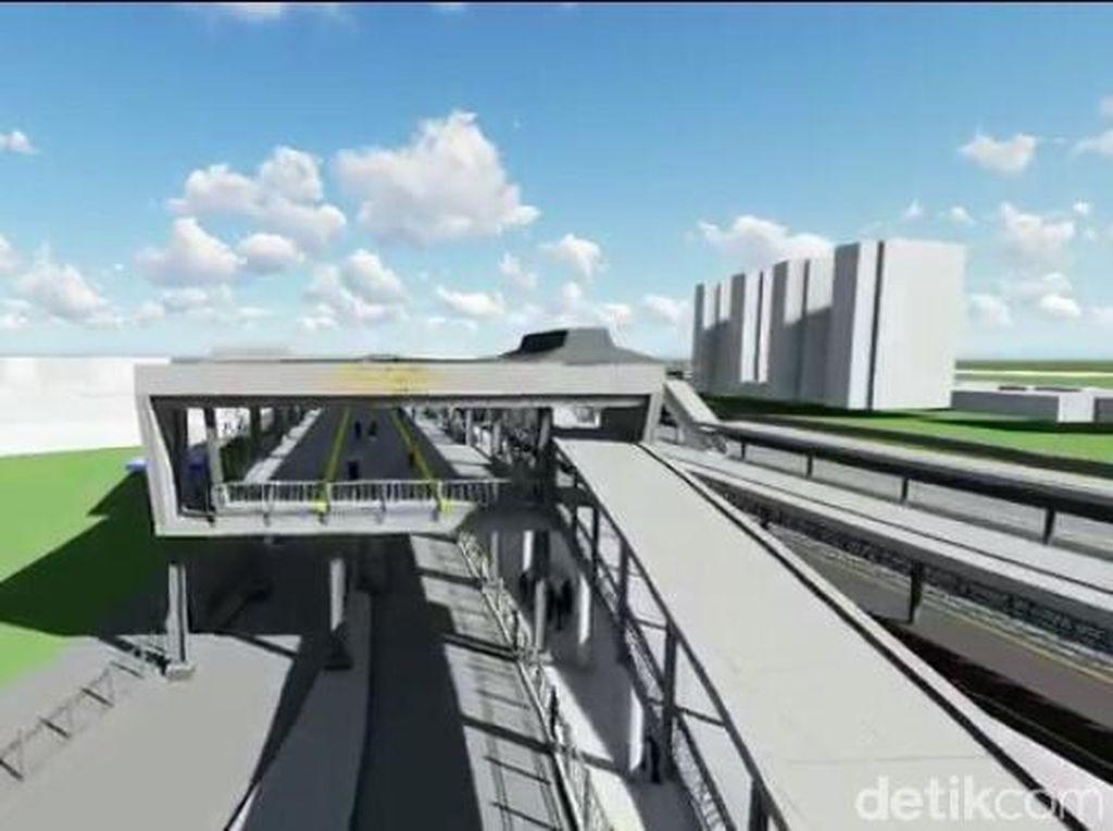 Ini Desain Sky Bridge Tanah Abang yang Dibangun Agustus