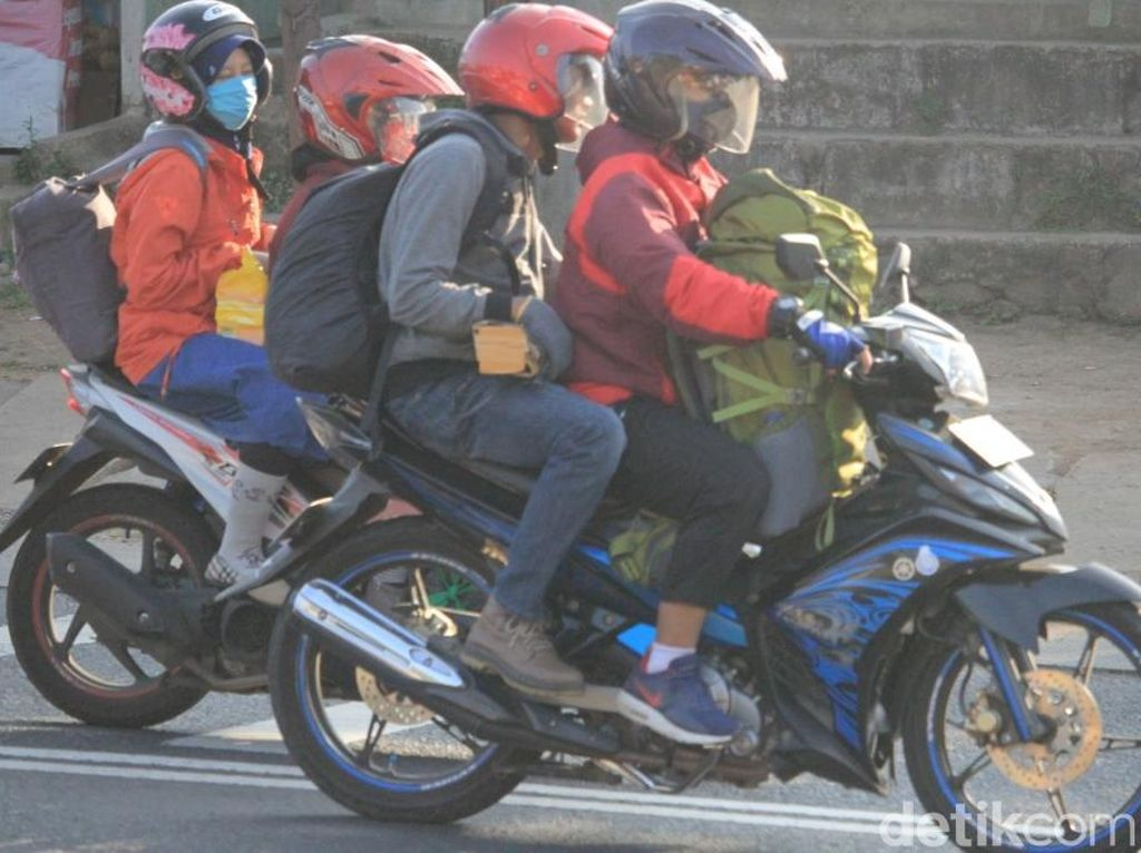 Pesan Kapolda Jabar ke Pemudik Bersepeda Motor