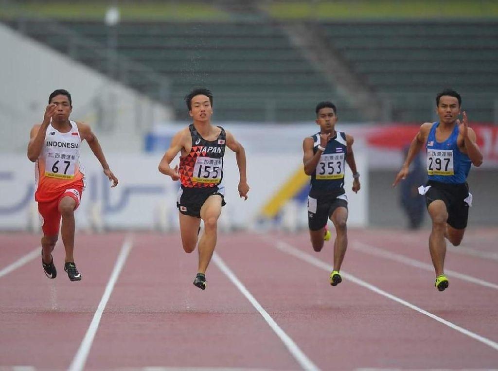 Lalu Raih Emas di Kejuaraan Asia Atletik Junior 2018