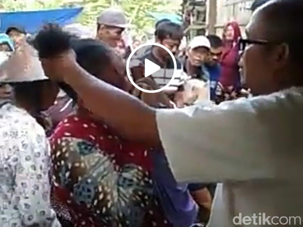 Viral Video Ibu di Grobogan Dipukuli karena Kepergok Mencuri