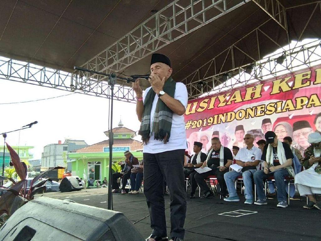 Soal Tantangan Amien Rais ke Jokowi untuk Duel dengan Gentle