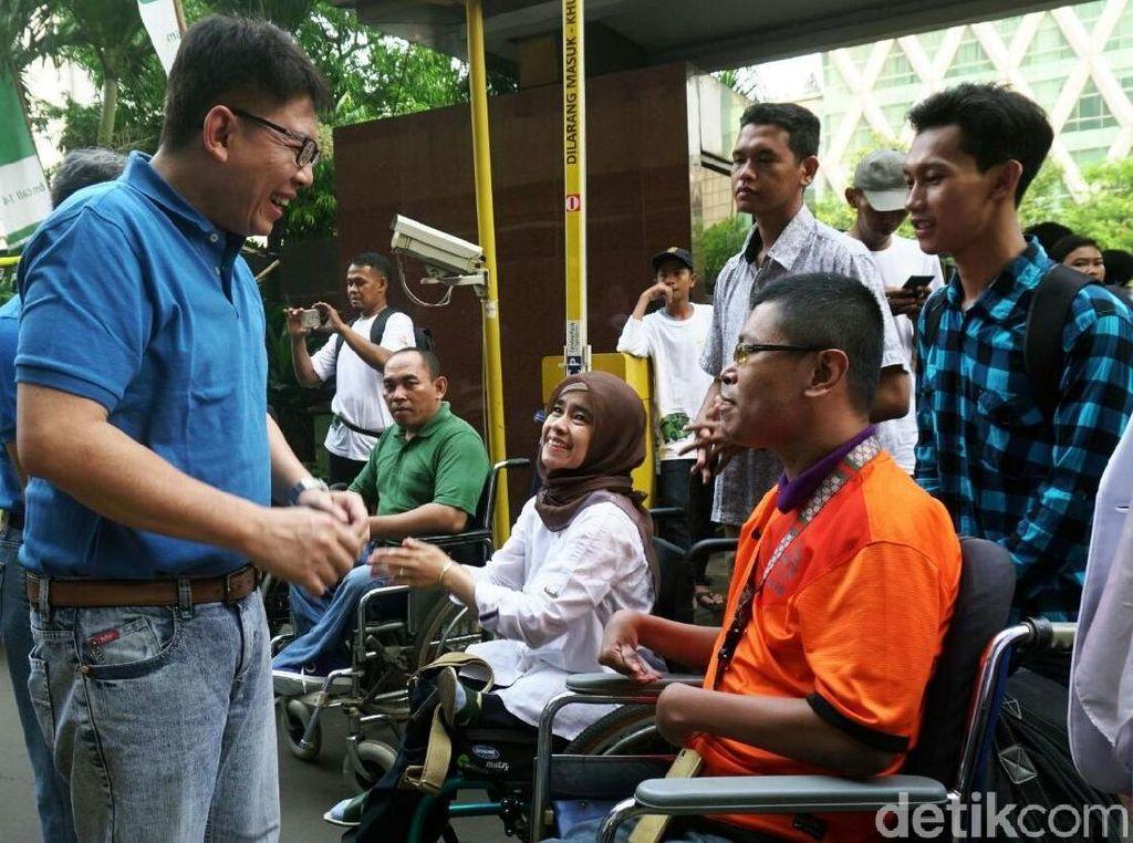 Mudik Gratis Bagi Penyandang Disabilitas