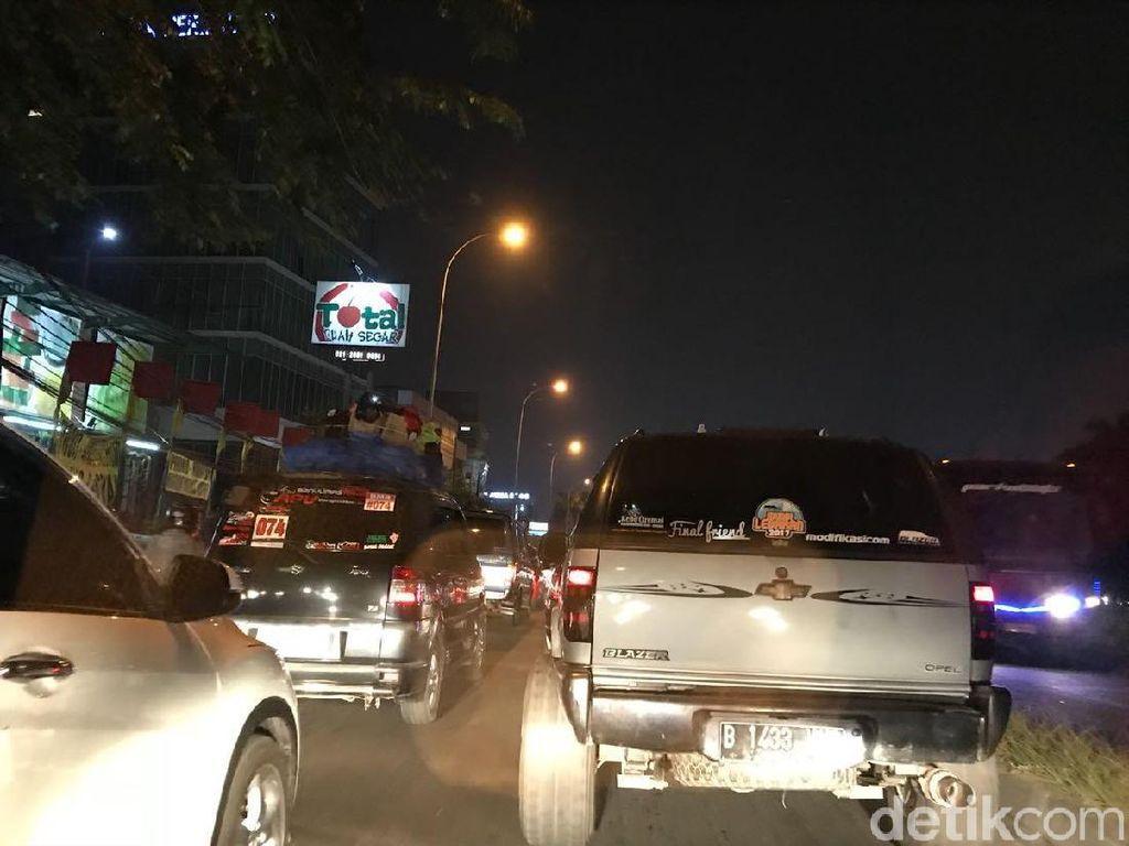 Polisi Sebut Macet Parah di Kalimalang Imbas Promo BBM Rp 20 Ribu