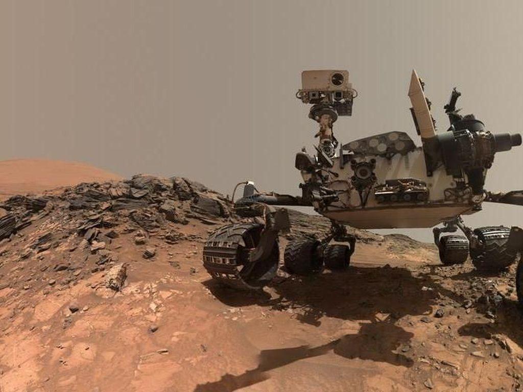 Wahana Penjelajah Mars Temukan Materi Organik