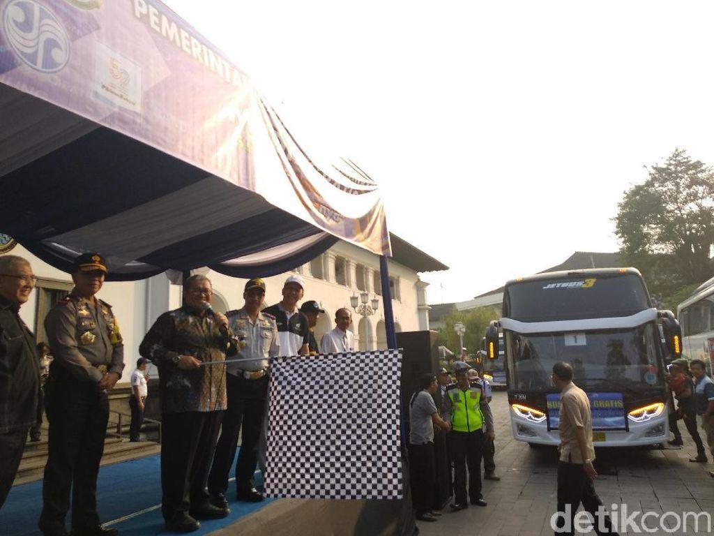 5 Ribu Orang Ikuti Mudik Gratis Pemprov Jawa Barat
