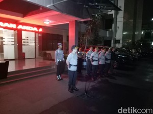 Polres Jaksel Gelar Apel Pengamanan Antisipasi Kejahatan di SOTR