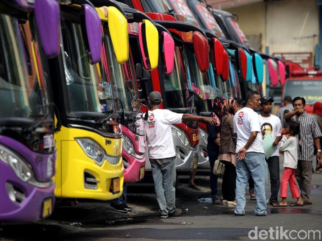 Peserta Mudik Bareng PKB Penuhi Taman Ismail Marzuki