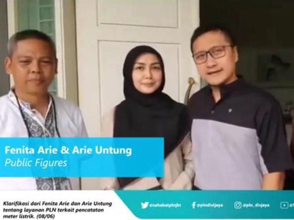 Masalah Tagihan Listrik Rp 18 Juta Fenita Arie Sudah Selesai
