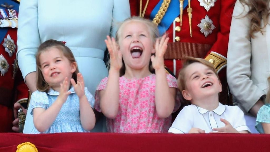 Foto Gemas Putri Charlotte dan Sepupunya di Ultah Ratu Elizabeth