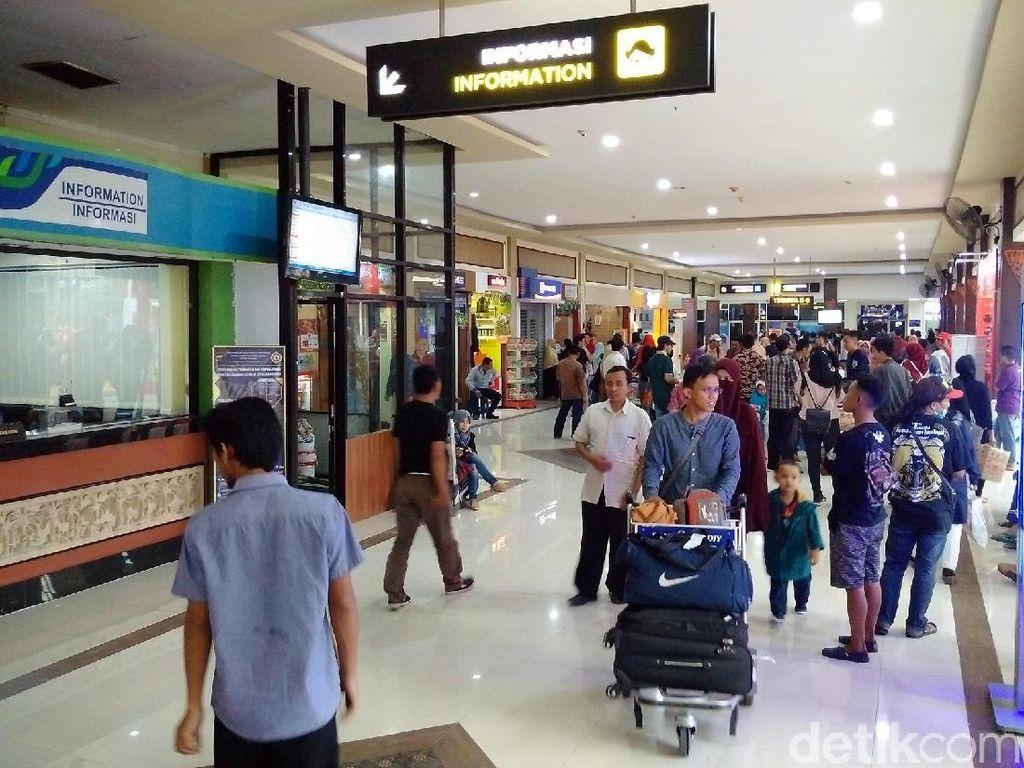 H-6 Lebaran, Penumpang Bandara Adisutjipto Meningkat 44 Persen