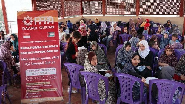 Di Tengah Perang, 230 Anak di Palestina Semangat Hafal Alquran