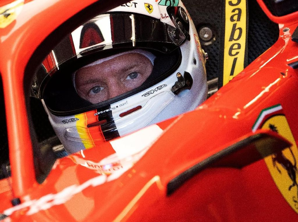 Vettel Rebut Pole di GP Kanada