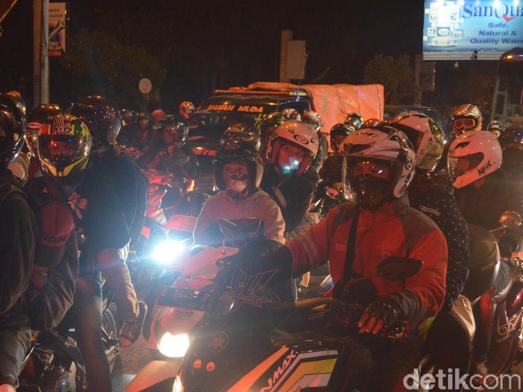 Roda Dua Mulai Padati Pantura Cirebon
