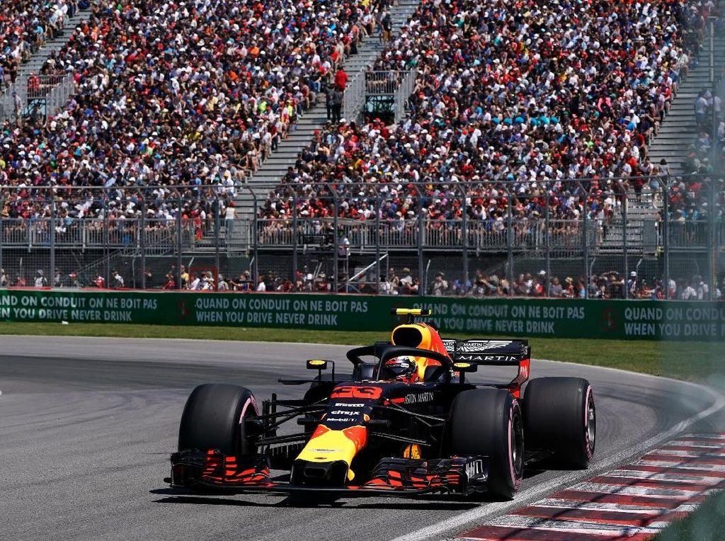 Start di Baris Kedua, Verstappen Pede Hadapi Balapan di GP Kanada