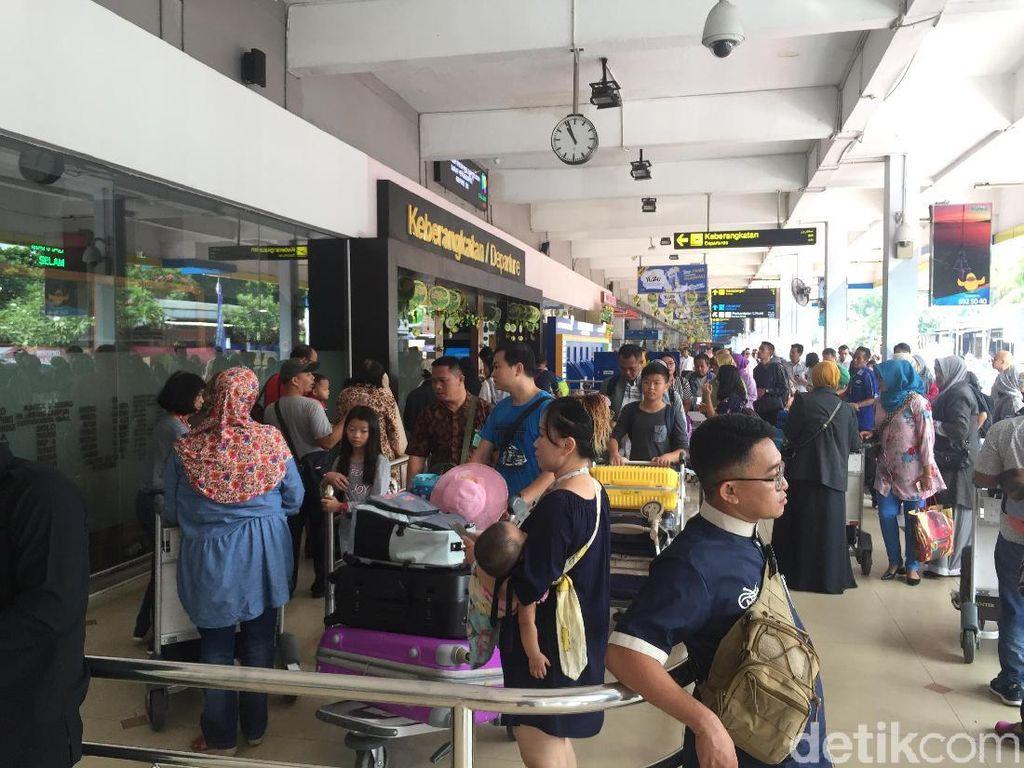 Mudik Lebaran, Bandara Halim Tambah 12 Penerbangan ke 5 Kota