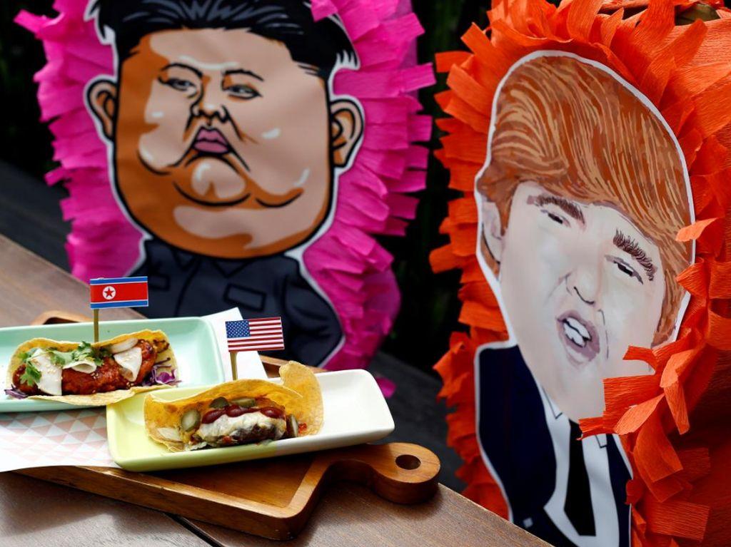 Hari Ini, Trump Bakal Bertemu Kim Jong Un di Singapura