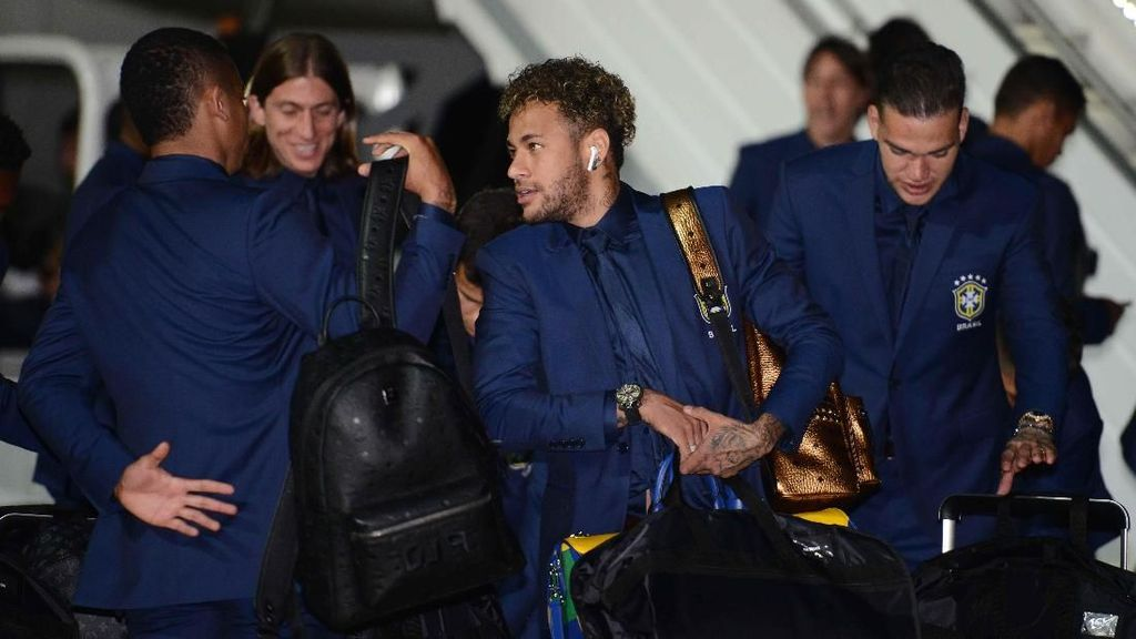 Ola Rusia! Brasil Tiba untuk Piala Dunia 2018