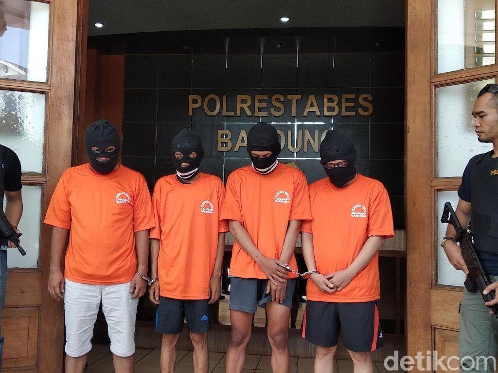 Ini Alasan Oknum Satpol PP dan PNS Disbudpar Bandung Pakai Sabu