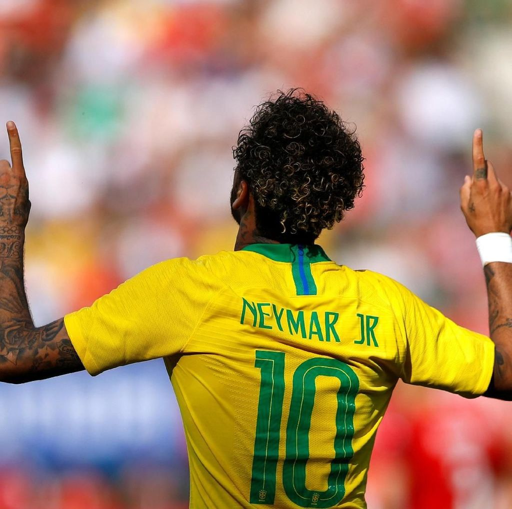 Ini Kata Neymar Usai Samai Catatan Gol Romario