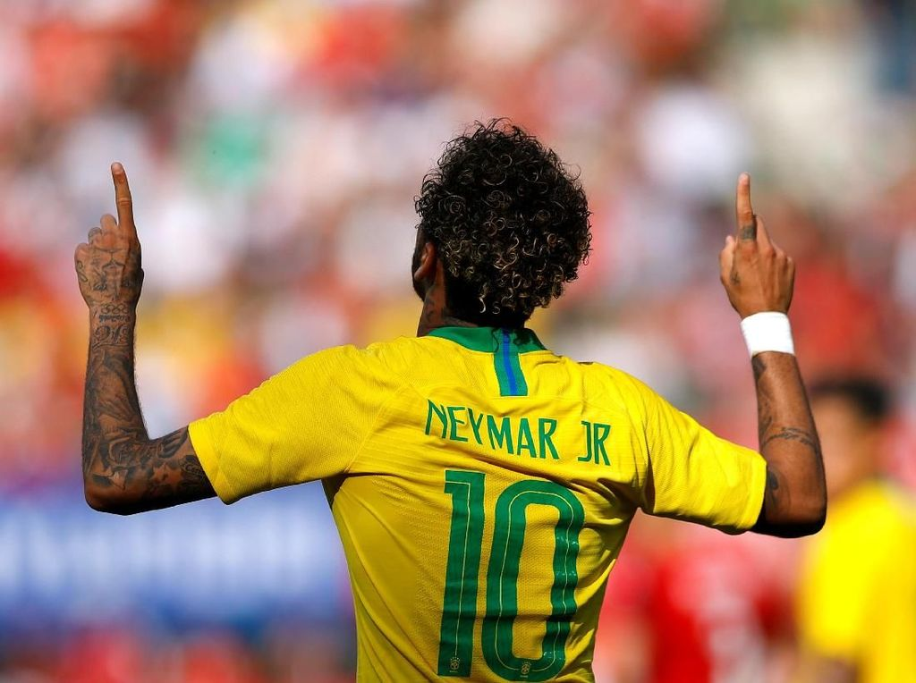 Ternyata Neymar Masih Belum 100% Fit