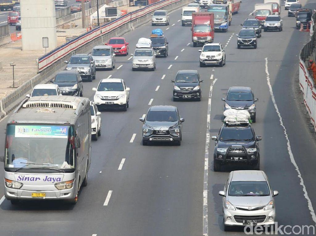1 Juta Lebih Kendaraan Keluar dari Jakarta hingga H-4 Lebaran