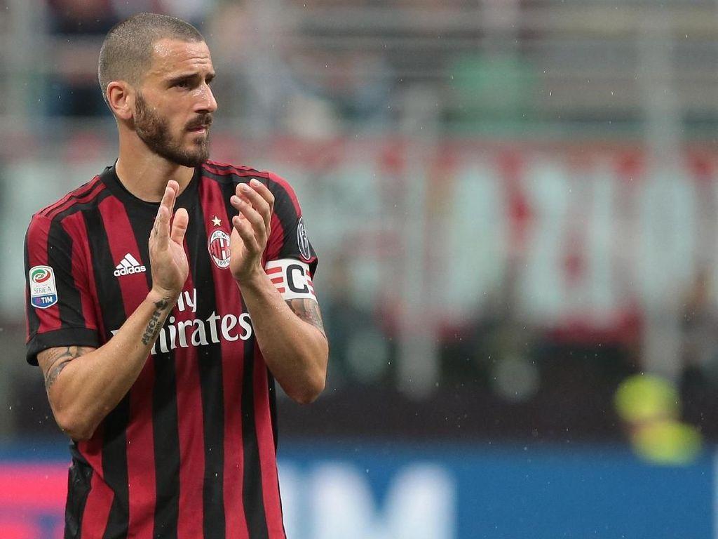 Abaikan Rumor Transfer, Bonucci Fokus Bawa Milan Kembali ke Liga Champions