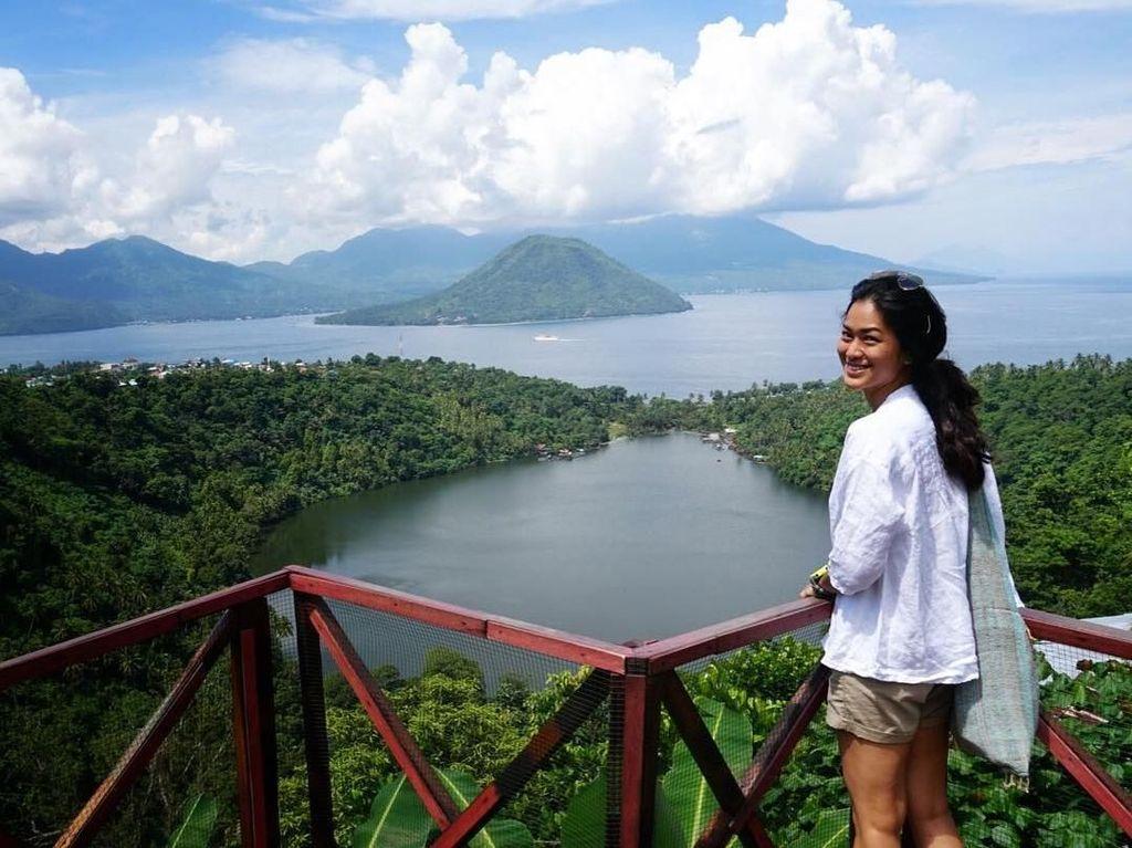 Foto: Prisia Nasution yang Doyan Traveling di Indonesia