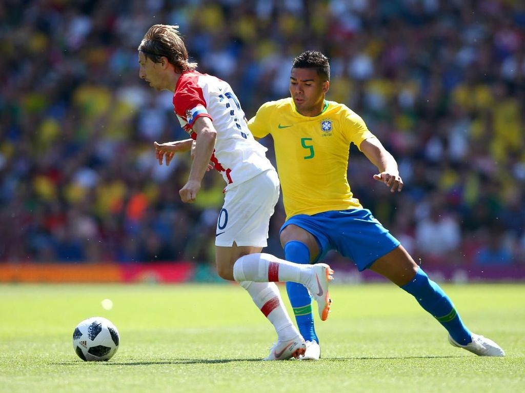 Pentingnya Casemiro untuk Brasil