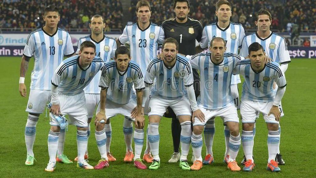 Jelang Piala Dunia 2018, Argentina Bawa Bekal 3 Ton Makanan ke Rusia