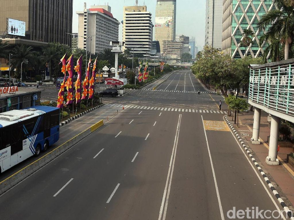 Asyik! Sudirman-Thamrin Lancar Jaya