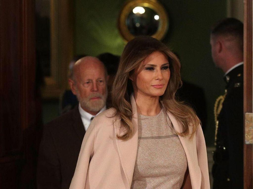 Tetap Ramping di Usia 48 Tahun, Ini yang Dimakan Melania Trump Tiap Pagi