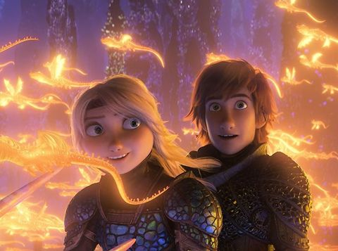 Film 'How to Train Your Dragon 3'/