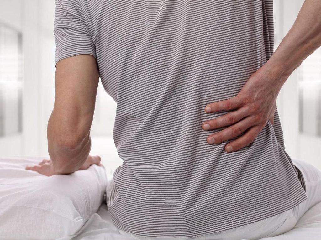 Pinggang Lemah karena Kurang Olahraga Tingkatkan Risiko Saraf Kejepit