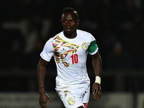 Sadio Mane dalam seragam Timnas Senegal