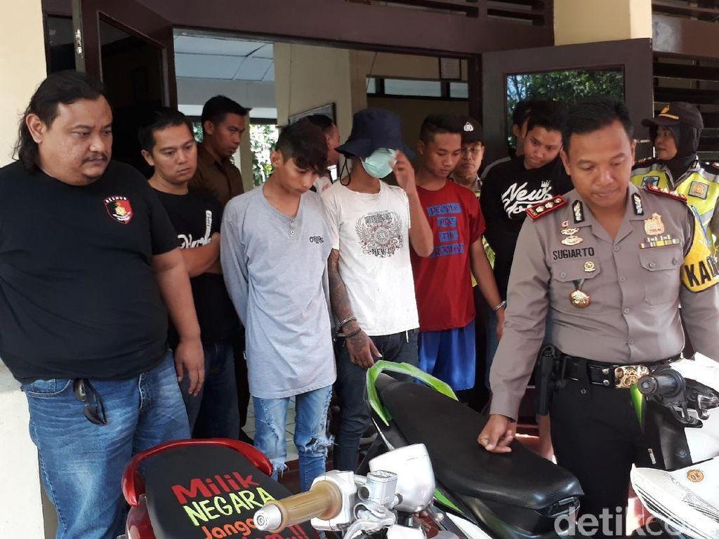 4 Pemuda Komplotan Begal Ditangkap Polisi Brebes