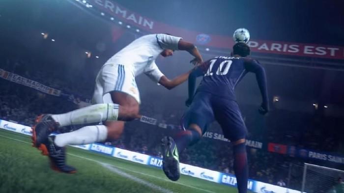 FIFA 19 akan meniadakan taktik parkir bus yang sudah disematkan sejak FIFA 15. (Foto: YouTube/EA Sports)