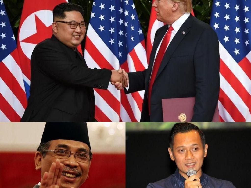 Berita Heboh: Trump-Kim Bertemu, Opsi JK-AHY di Pilpres 2019