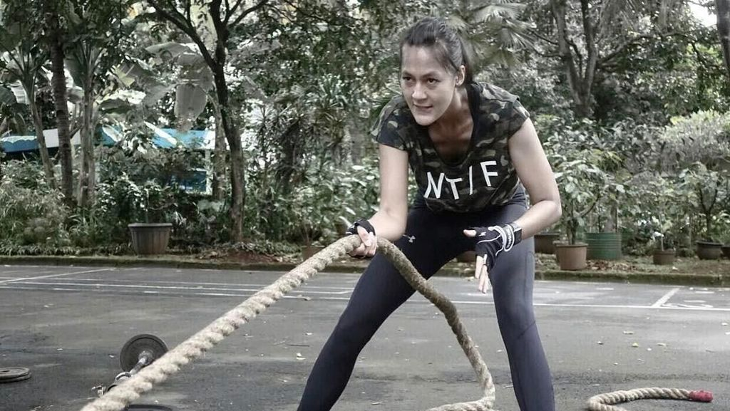 Dipamerkan Baim Wong di IG, Ini Paula Verhoeven yang Doyan Olahraga