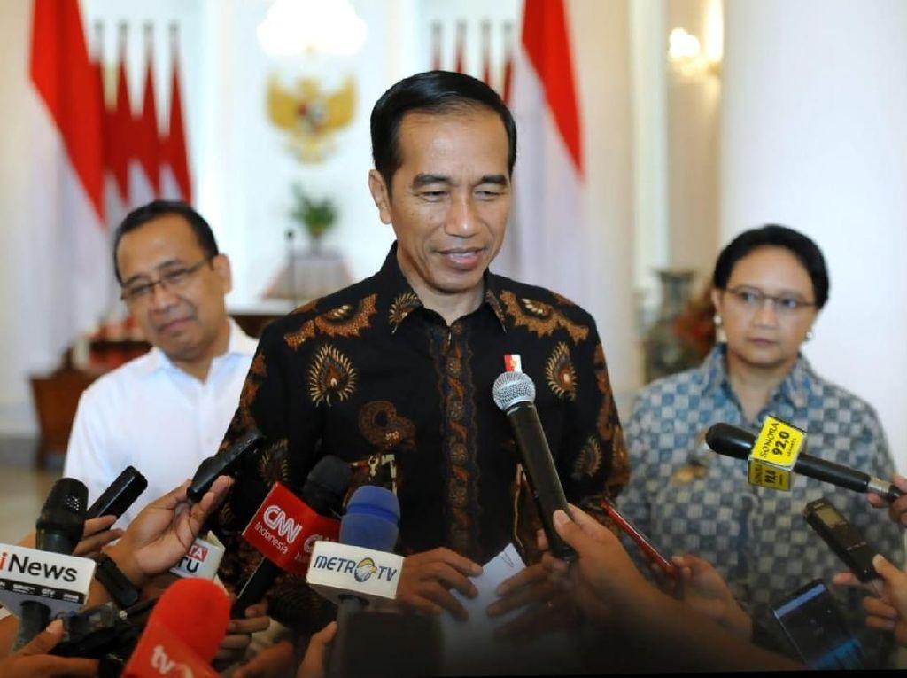 Jokowi soal SP3 Habib Rizieq: Tak Ada Intervensi