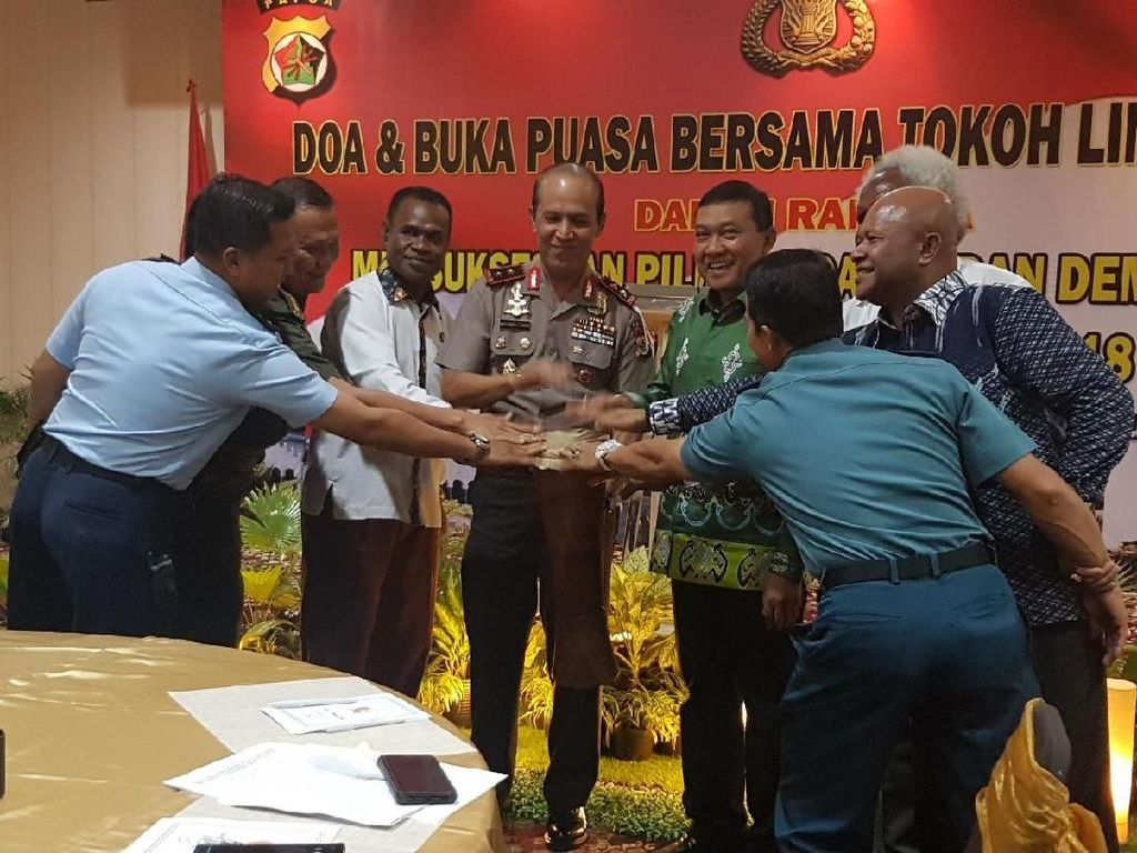 Tokoh Lintas Agama Doakan Pilkada Papua Berlangsung Damai