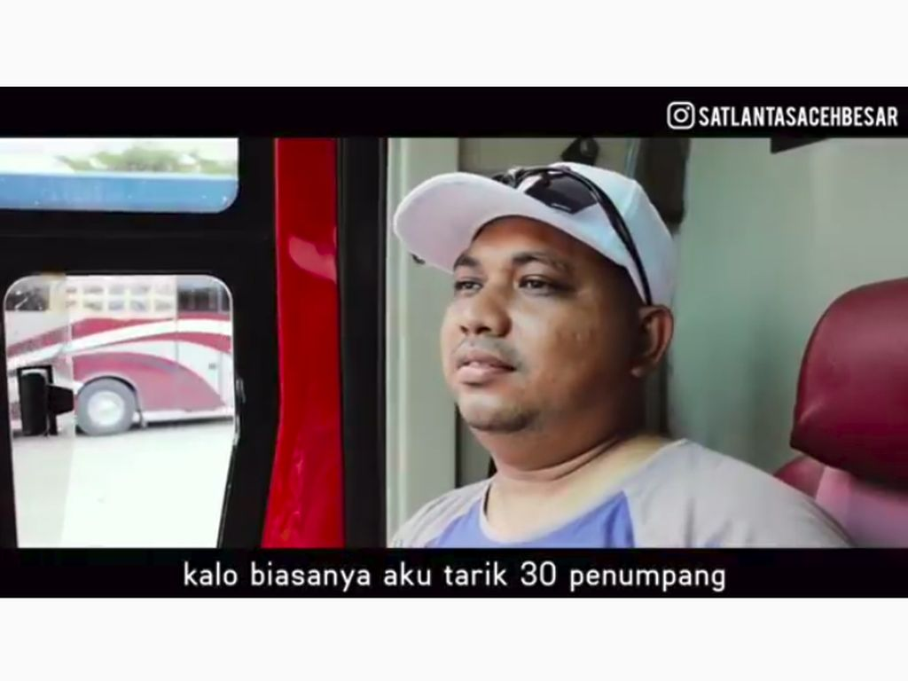 Sindiran Lucu untuk Sopir Bus yang Kejar Setoran saat Lebaran