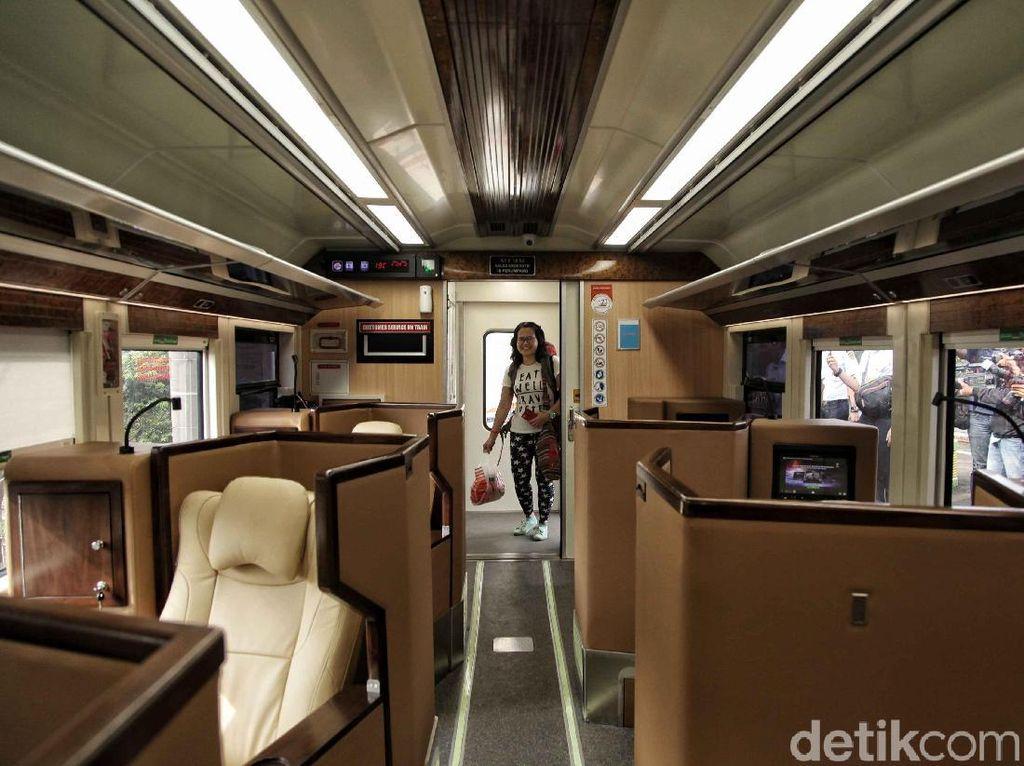 Video: Resmi Beroperasi, Begini Penampakan Kereta Mewah Sleeper