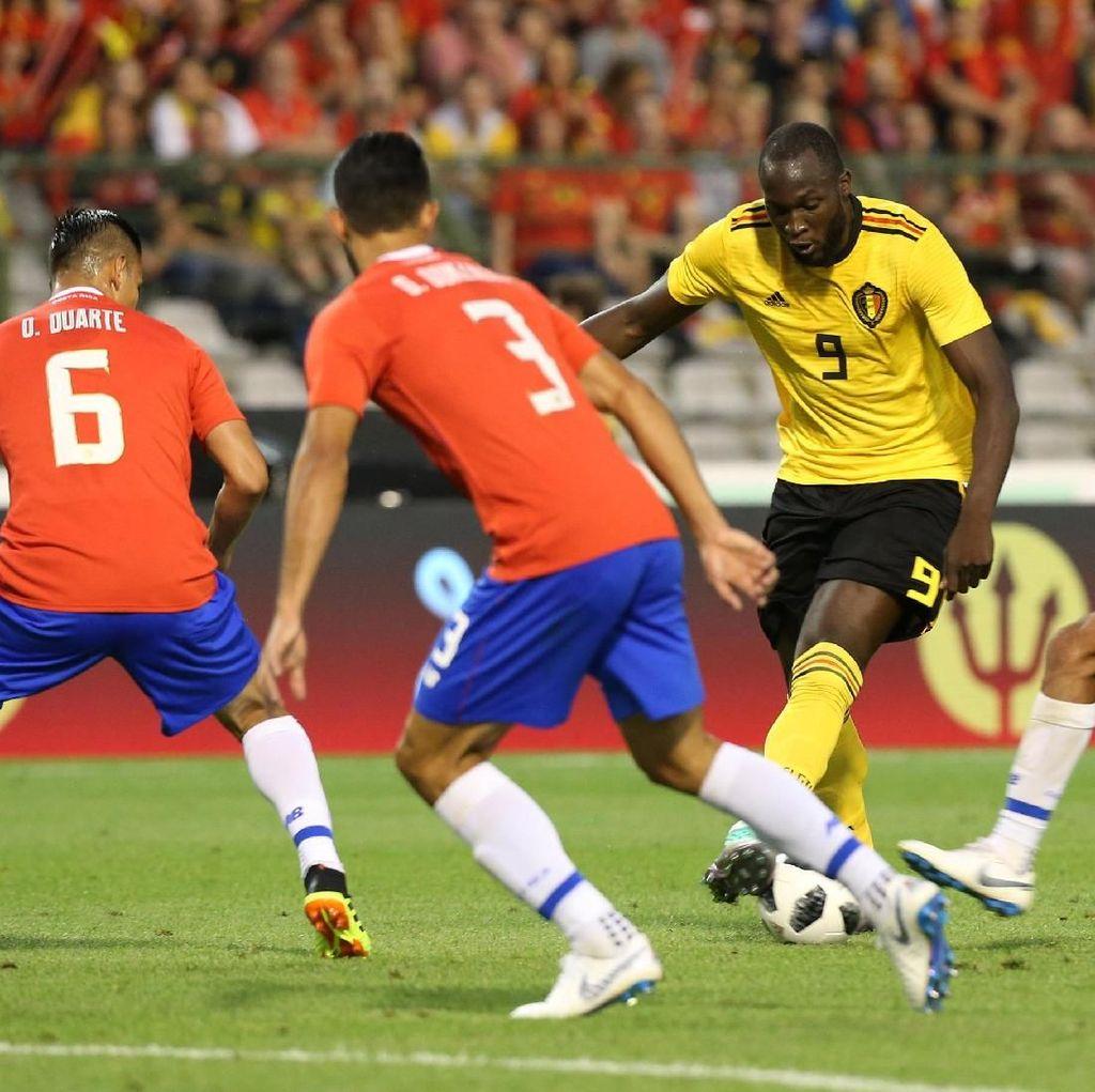 Lukaku Dua Gol, Belgia Kandaskan Kosta Rika 4-1