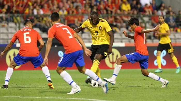 Belgia menang 4-1 atas Kosta Rika di laga uji coba terakhir jelang Piala Dunia 2018 (Foto: Francois Walschaerts/Reuters)