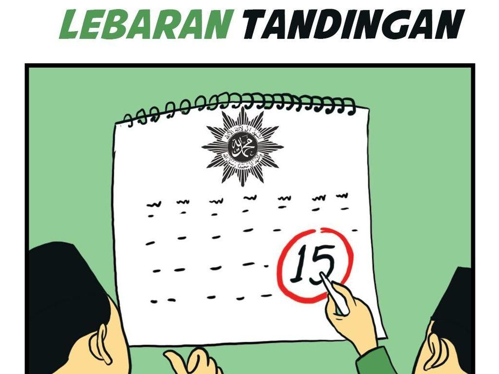 NU-Muhammadiyah Lebaran Bareng, Kalau Kecebong dan Kampret?