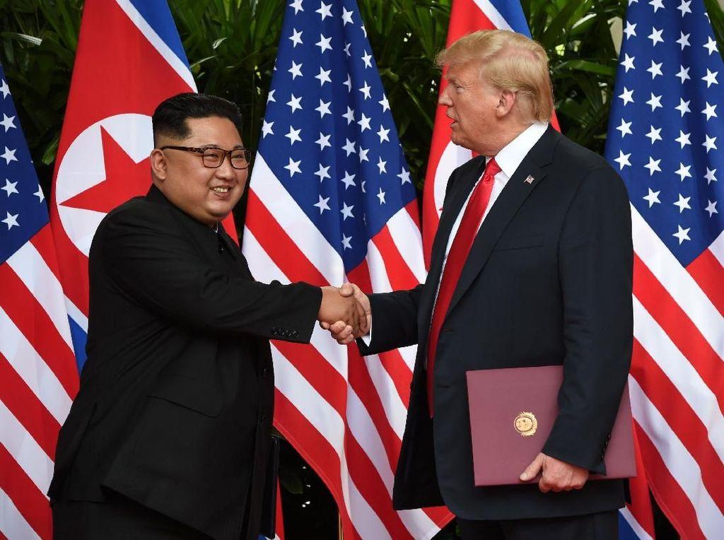 Trump Akui Nantikan Pertemuan Kembali dengan Kim Jong-Un