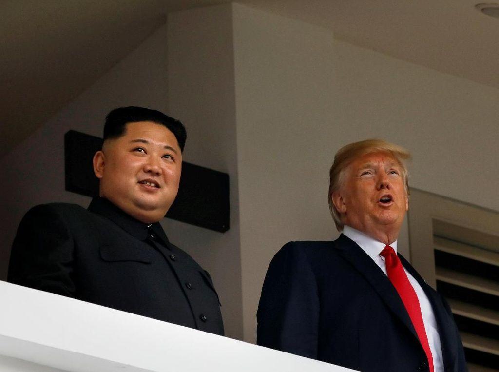 Kata Trump Usai Tatap Muka dengan Kim: Hubungan Luar Biasa