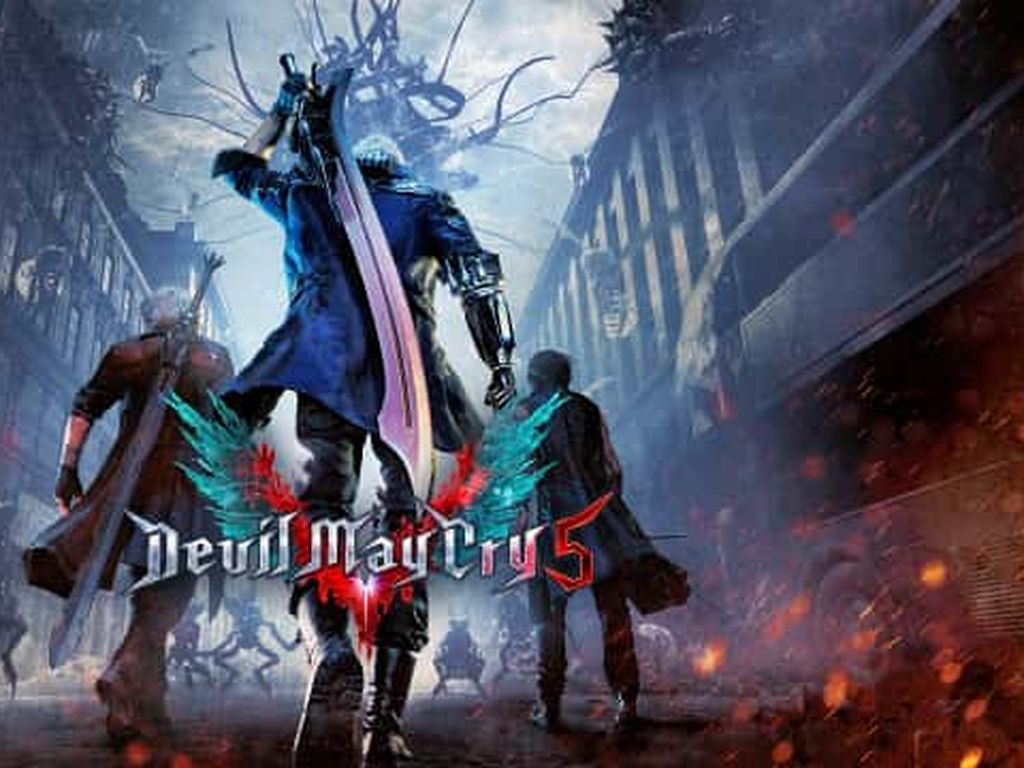 Resmi Dirilis, Nero Jadi Jagoan di Devil May Cry 5