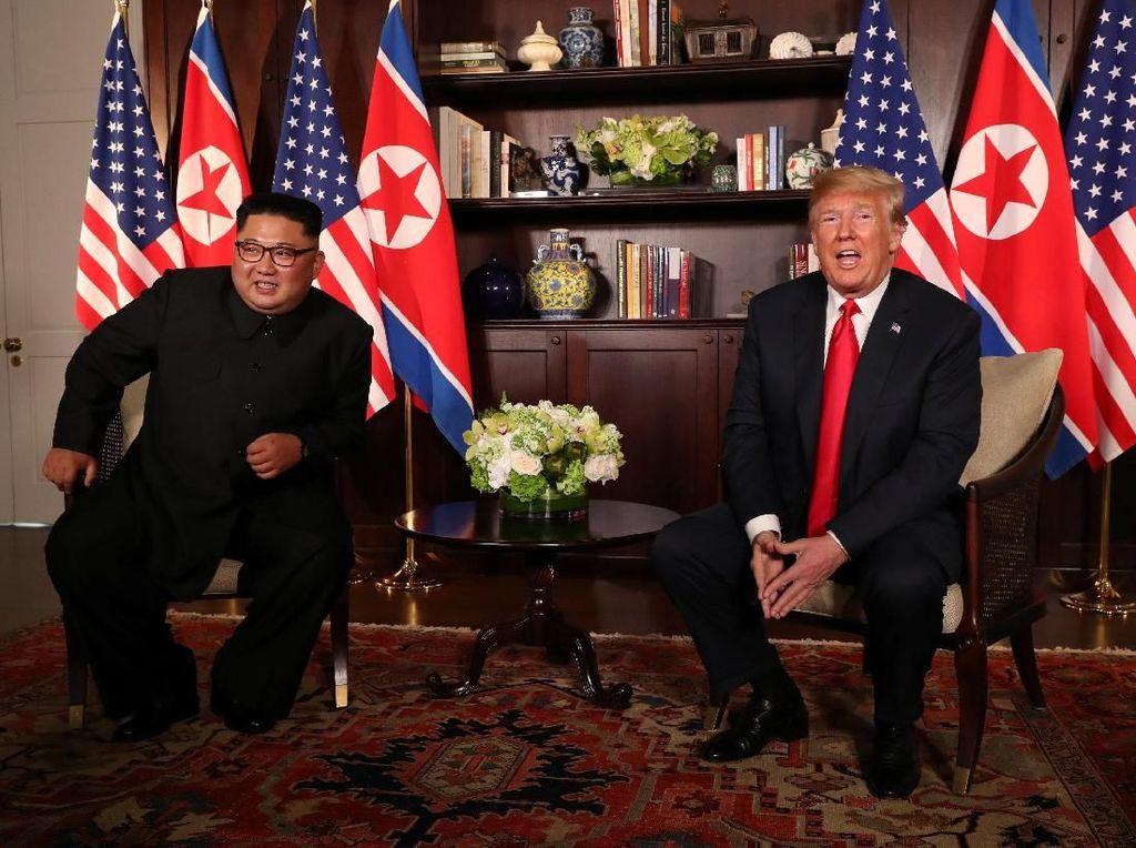 Kata Kim Jong-Un ke Trump: Senang Bertemu Anda, Mr. President!